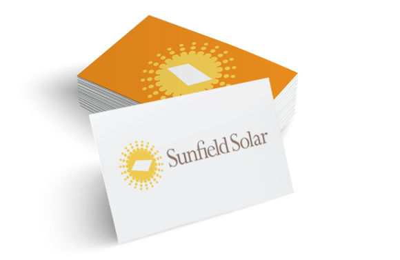 sunfield-solar-logo-design